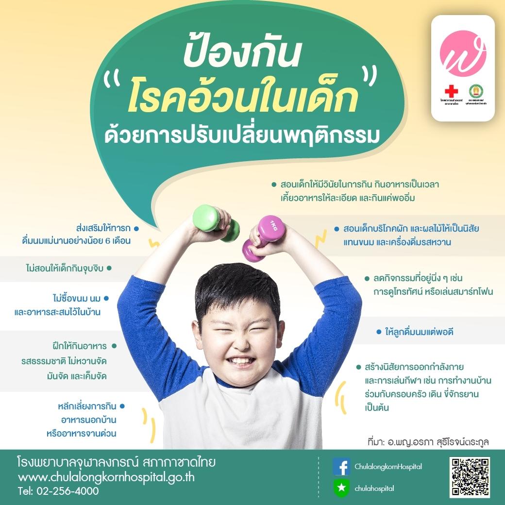 ป้องกันโรคอ้วนในเด็ก