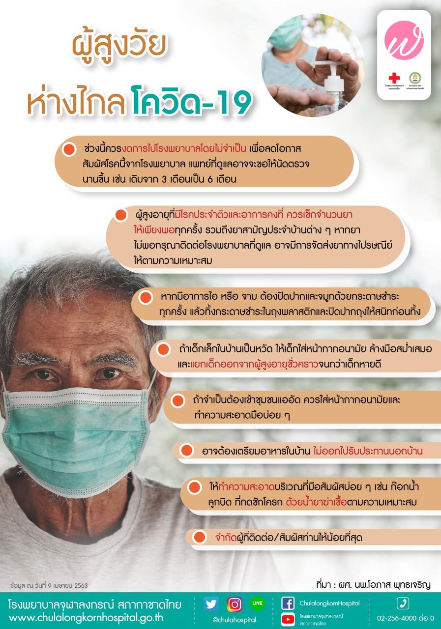ผู้สูงวัย ห่างไกลโควิด-19