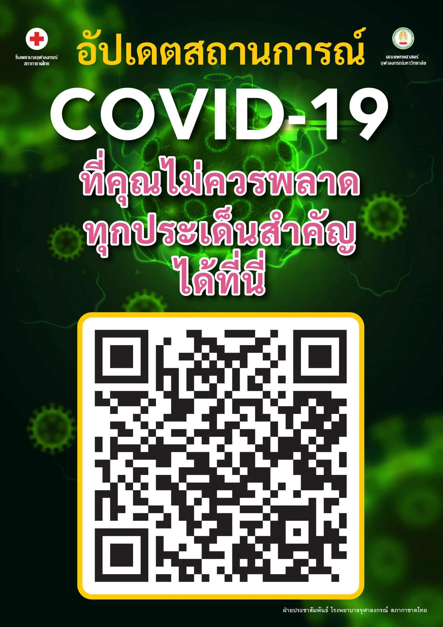 อัปเดตสถานะการณ์ COVID-19 ที่คุณไม่ควรพลาด ทุกประเด็นสำคัญ