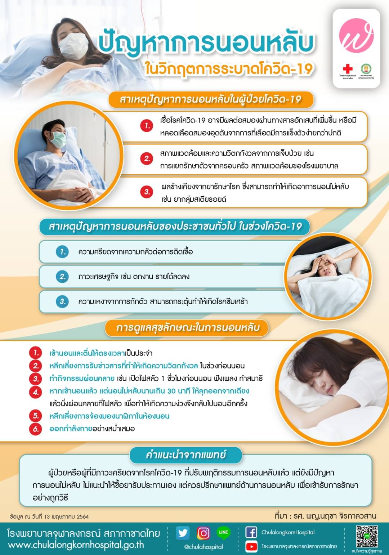 ปัญหาการนอนหลับในวิกฤตการระบาดโควิด-19